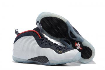 new arrival fbfc3 beeb6 Nike Air Foamposite One PRM Olympic University Red White Men Shoes  575420-400