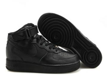 best service 744c2 df2e4 Nike Air Force 1 High Black Unisex Casual Shoes 315121-032