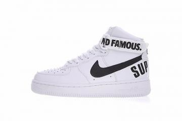 376723ed9609f Nike Air Force 1 High Supreme Sp White Black 698696-100