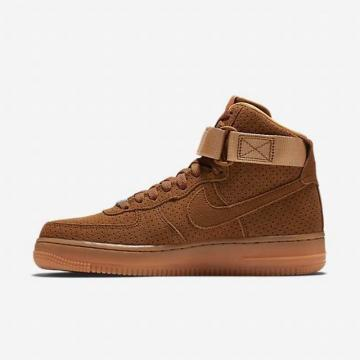 a921cce93f15 Nike Air Force 1 Suede High Tawny Wheat Flax 749266-201