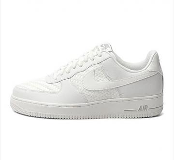 san francisco 91648 a1e06 Nike Air Force 1 Low 07 LV8 Pure White Woven 718152-105