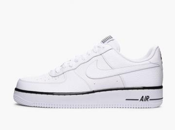 new concept 2c6ea 3bbe5 Nike Air Force 1 Low 07 White Black Sneaker 488298-160