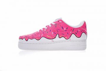 Nike Air Force 1 Low Canvas AF1 Donuts Ice Cream White Pink 596728-818 b1826bbc0
