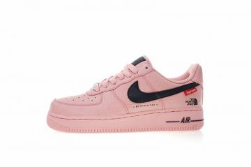 big sale c6557 87ff7 Supreme x The North Face x Nike Air Force 1 Low Pink Black AR3066-800