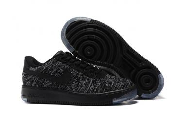 747009f7f908 Nike Air Force 1 Ultra Flyknit Low Black Dark Grey White NSW HTM Lifestyle  Shoes 817419-004