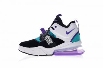 low priced 520d0 0d2a5 Nike Air Force 270 Light Violet White Blue Black Varsity Running Shoes  AH6772-005