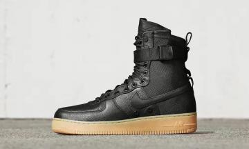 san francisco 97394 8e7bf Nike Air Force 1 Special Field AF1 Black Light Brown 859202-009