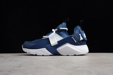 a44dae02d221 Nike Air Huarache City Low 5 Mesh Breathable White Blue AH6804-400