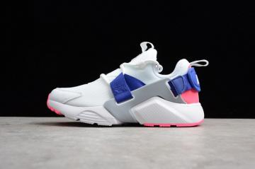 b135fb515114 Nike Air Huarache City Low 5 Mesh Breathable White Blue Pink AH6804-101