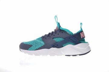 e62a8363edb69 Nike Air Huarache Run Ultra Jade Blue Grey White AH6758-300