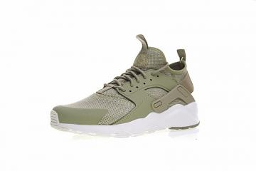 15732c4f4f412 Nike Air Huarache Run Ultra Premium Trainers In Green Olive 833147-201