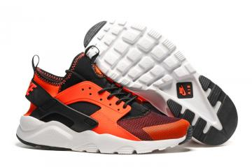 0e8f9ddf3ebb Nike Air Huarache Run Ultra Total Crimson Black Men Running Shoes 819685-008