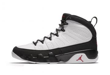 5aed7a08859e Nike Air Jordan 9 IX OG Space Jam Men Basketball Shoes White Black Red  302370-112