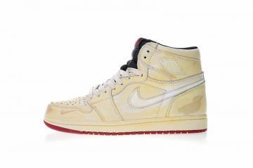 63f9f488285e Nigel Sylvester x Nike Air Jordan 1 Retro High OG Sail Varsity Red Reflect  Silver White BV1803-106