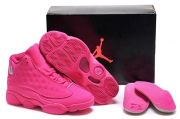 differently 7c920 91d16 Nike Air Jordan 13 Retro Hyper Pink Rose AJXIII GS Women Shoes 439358