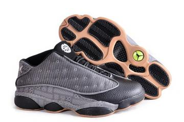 018900b3c8475c Nike Air Jordan 13 XIII Retro Low QUAI 54 Q54 Grey Black Yellow 810551 050