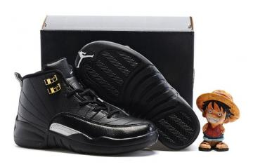 182797c8195de9 Nike Air Jordan Retro 12 The Master Black Metallic Gold BG GS 153265 013