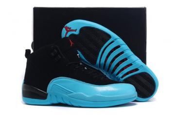 18b7e8de6a1 Nike Air Jordan Retro 12 XII Gamma Blue Men Women Shoes 130690 027