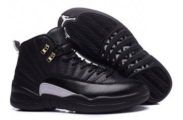 400352c9746b Nike Air Jordan XII Retro 12 The Master Black Rattan White Gold 130690 013