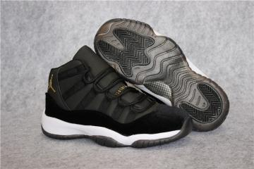 c3348ce695a4 Nike Air Jordan 11 XI Retro Heiress Velvet Black Unisex Shoes 852625