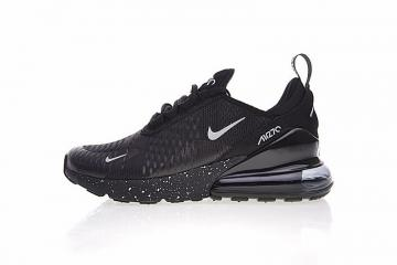 best website 6be2e 3e2d8 Nike Air Max 270 All Black Noire Sports Running Shoes AH8050-202