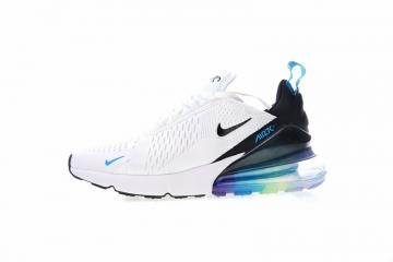 newest ca523 aa481 Nike Air Max 270 Betrue White Black Spectrum Blue AH8050-022