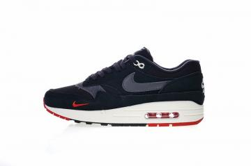 outlet store 064a9 75399 Nike Air Max 1 Premium Bred University Oil Black Grey Red 875844-007