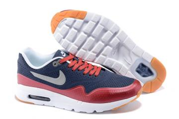 Nike Air Max 1 Ultra Moire CH Red Royal Blue Kid Children Shoes 705297 028