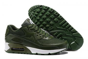newest collection e3f69 8f619 Nike Air Max 90 army green white men Running Shoes 537394-118