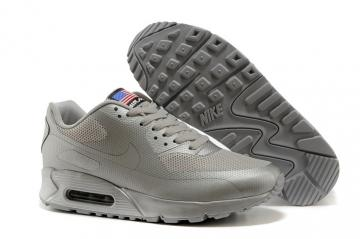 afff2d4623 Nike Air Max 90 Hyperfuse QS Sport USA All Silver July 4TH Independence Day  613841-888