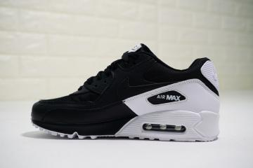 buy online 0c4d5 0de5d Nike Air Max 90 Essential Black White Casual Sneakers 537384-082