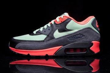 pretty nice 71f32 d4a18 Nike Air Max 90 Essential Orange Dark Grey Green 537384-303