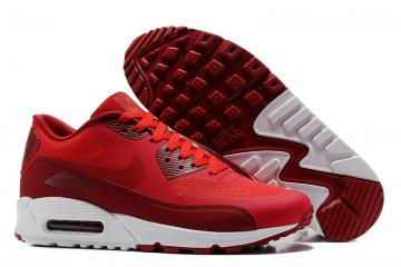 9054ef17aec8 Nike Air Max 90 Ultra 2.0 Essential Red White Men Running Shoes 875695-600