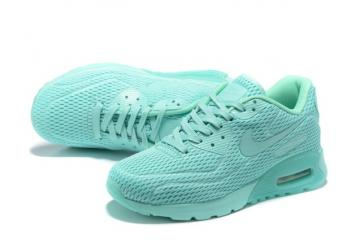 more photos 23b40 32a99 Nike Air Max 90 Ultra BR Breeze Tiffany Hyper Jade Mens Women Running  Trainers 725222-301