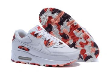 best sneakers 0d7a1 b36e1 Nike Air Max 90 QS London Eton Mess Shoes White Red WMNS Womens Shoes  813150-100