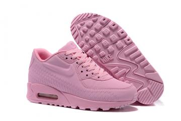 36d84bf9afd9 Nike Air Max 90 Woven Women Shoes Women Training Running Shoes Light Pink  833129-012