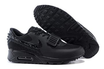 b8e59b2a08 Nike Air Max 90 Air Yeezy 2 SP Casual Shoes Lifestyle Sneakers All Black  508214-602