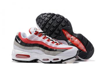 a19003767f Nike Air Max 95 Black Cool Grey White Red Men Running Shoes Sneakers  Trainers 749766-601