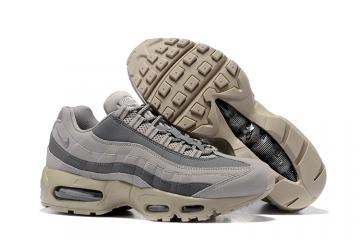 7248469c52 Nike Air Max 95 Wolf Grey Men Running Shoes Sneakers Trainers 749766-200