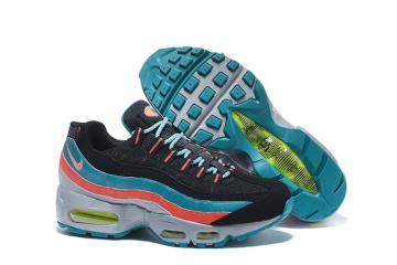 7d0546db20 Nike Air Max 95 Essential Men Emerald Grey Running Shoes South Beach  749766-002