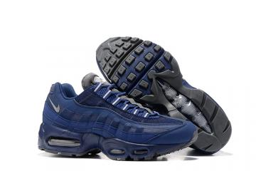 4ab223f08b Nike Air Max 95 Essential Navy Blue Grey Men Shoes 749766