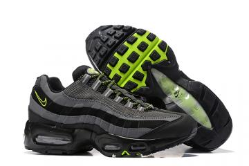 4c25815064 Nike Air Max 95 Pure Black Cool Grey Men Running Shoes Sneakers Trainers  749766-017