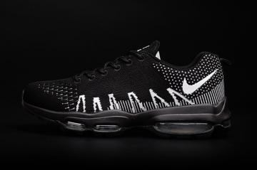 7a378f3468b2 Nike Air Max 95 Ultra JCRD Men Running Shoes Flyknit Black White 749771-100