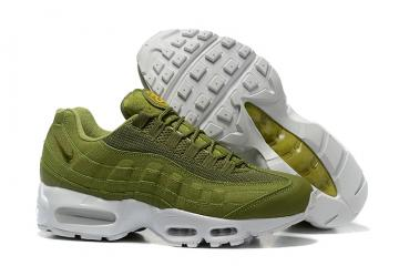 Nike Air Max 95 x Stussy Dark Olive Green Men Running Shoes 834668-337 607dda639