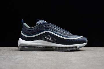 89db0d4a33 Nike Air Max 97 Ultra Navy Midnight White Breathable Casual 918356-400