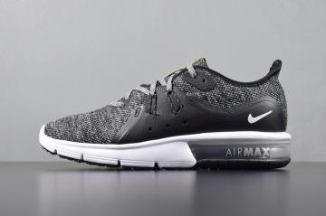 online retailer 2a61b 27108 Nike Air Max Sequent 3 Knit Black Grey 921694-011