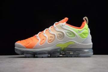 6c54ba10bda52 Nike Air VaporMax Plus Reverse Sunset Barely Grey Total Crimson Volt White  AO4550-003