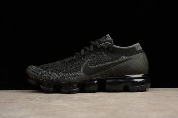 1f6f49a38038a Nike Air Vapormax Flyknit Triple Black Athletic Shoes 849558-007