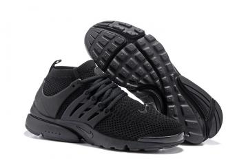 9935d5b0c5497 Nike Air Presto Flyknit Ultra All Black Men Running Shoes 835570-002