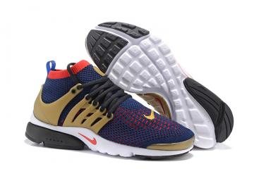 best service bab73 26fbf Nike Air Presto Flyknit Ultra NSW Running USA Olympic Navy Red Gold  835570-406